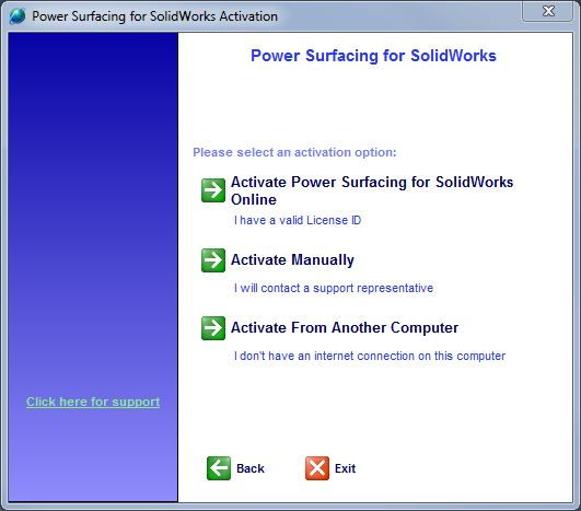 Activation Help for SolidWorks add-ins