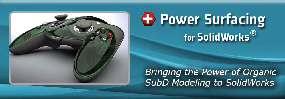 Power Surfacing - Industrial Design for SolidWorks®