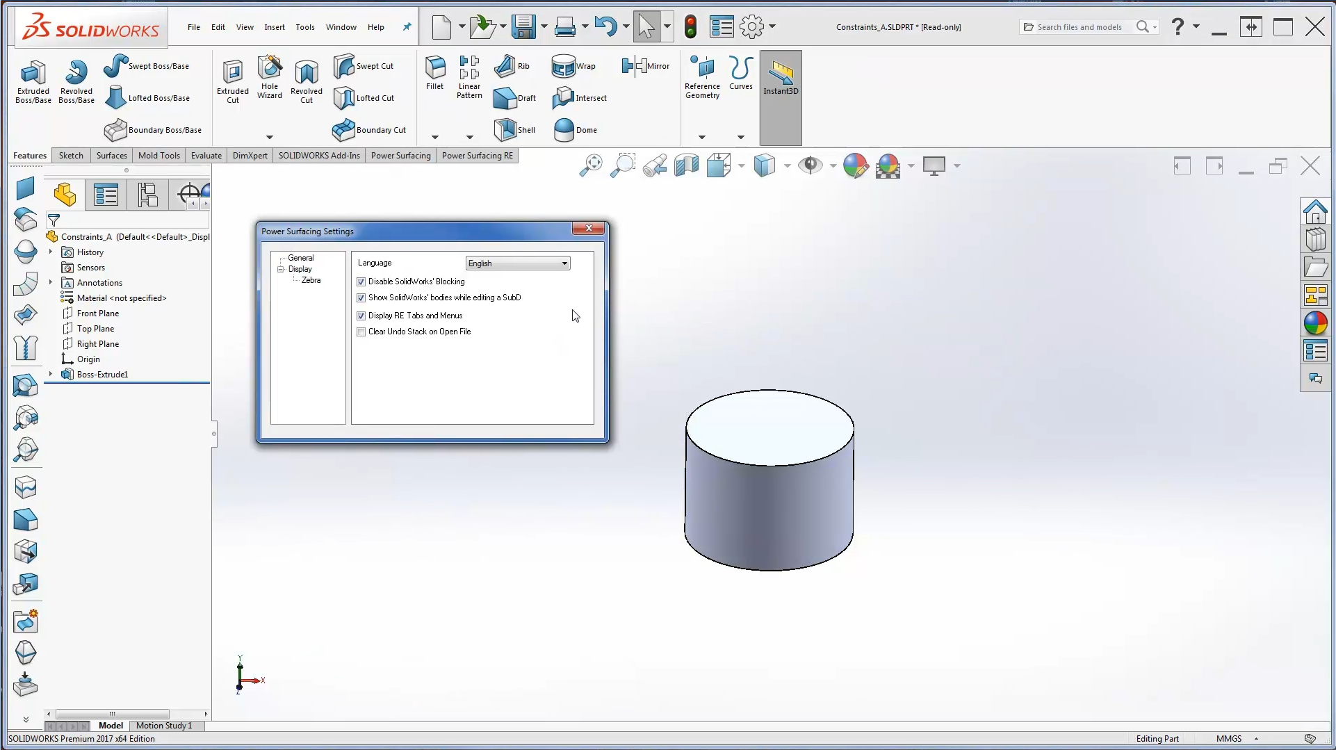 Power Surfacing for SolidWorks® Video Tutorials